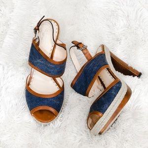 COACH 'Daria' heels size 10
